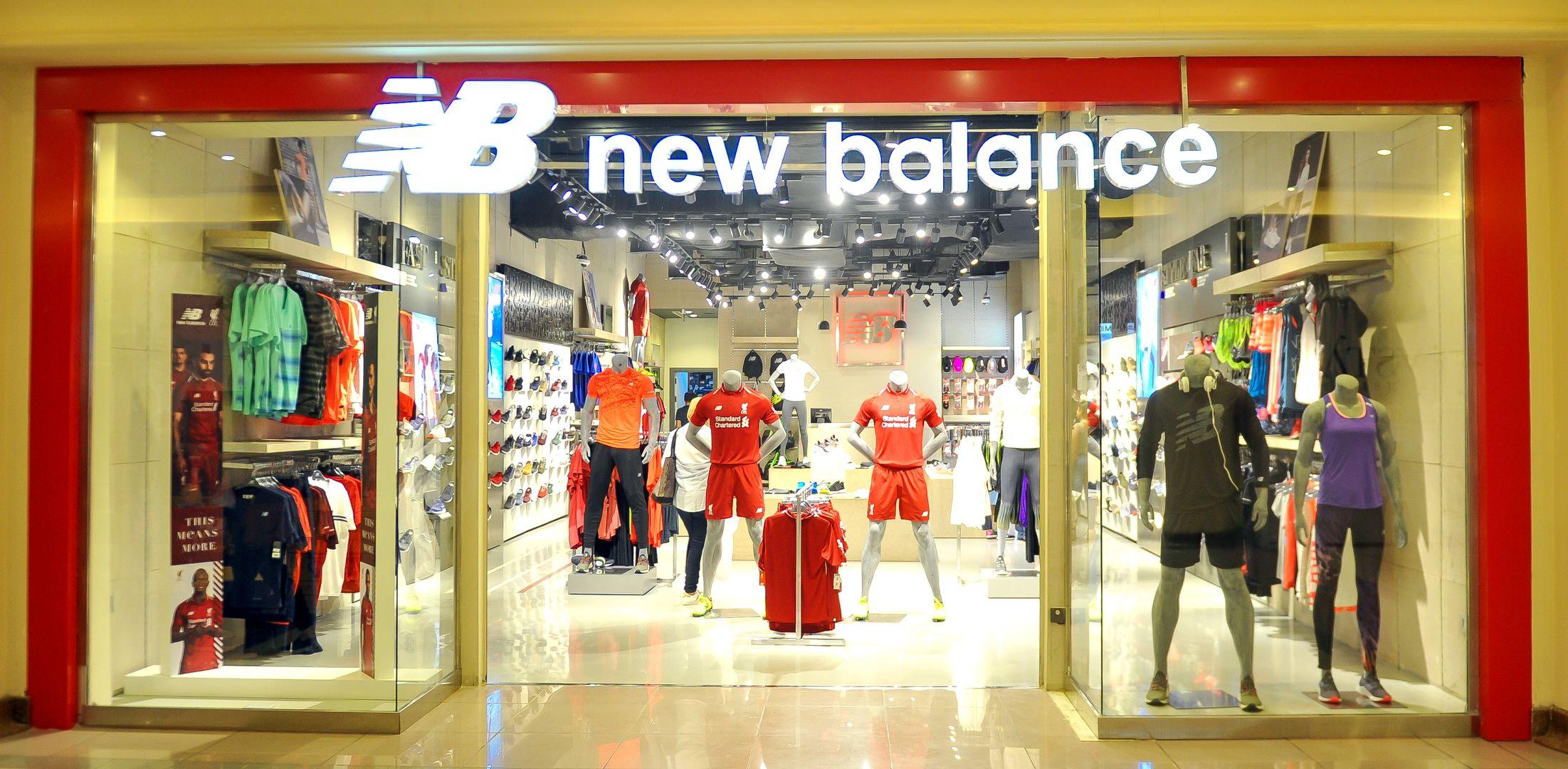 Kết quả hình ảnh cho NEW BALANCE store